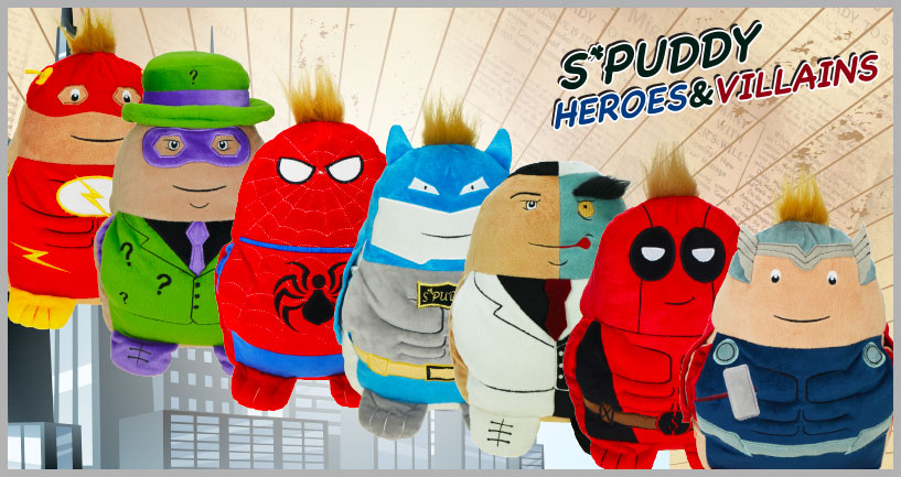 SPUDDY SUPERHERO BANNER 817X433px